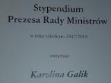 Stypendium Prezesa Rady Ministrów 2017